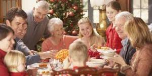 cena navideña familia2