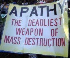 apathy mass destruction