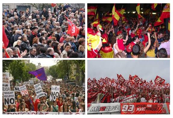 manifestaciones y celebraciones deportivas