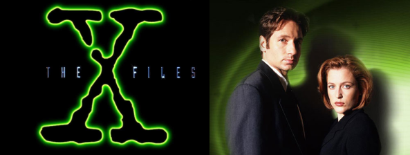 THE X FILES logo mulder scully