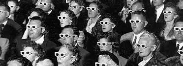 vintage cinema audience png