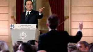 Hollande rueda prensa