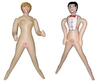 muñecos hinchables