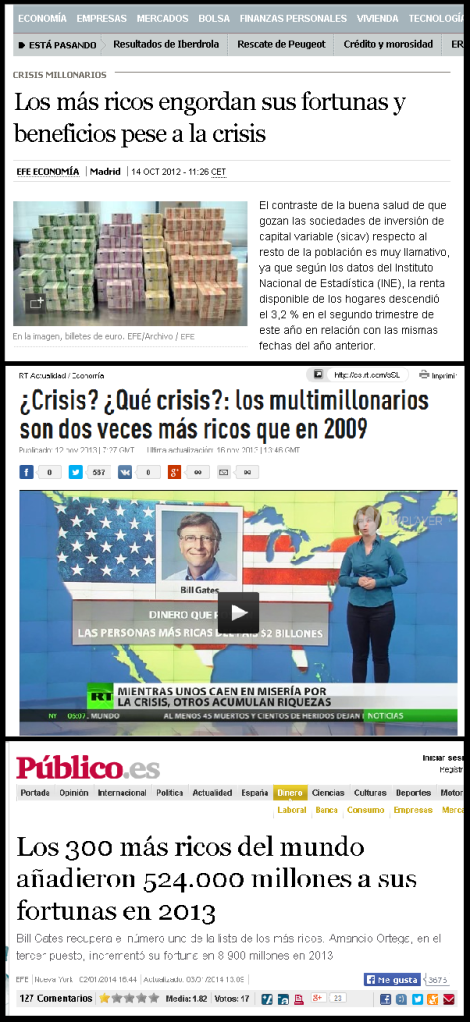 Ricos + ricos montaje noticias