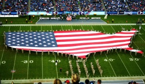 Titans Field US Flag