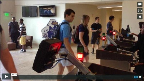 Video del acceso al comedor de la Georgia Southern University