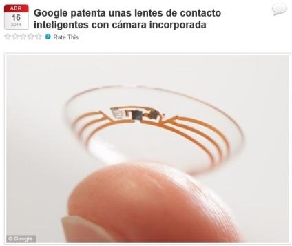 google lentes captura
