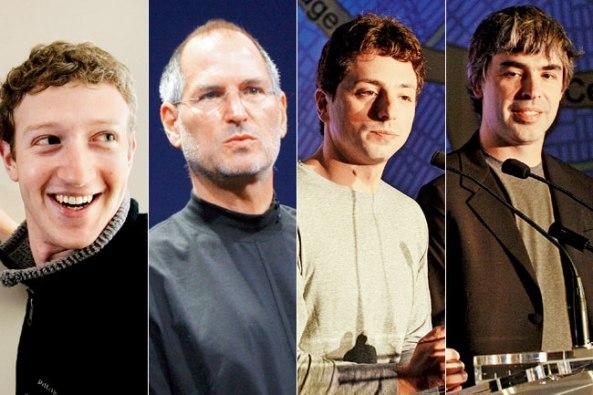 zuckerberg jobs brin page