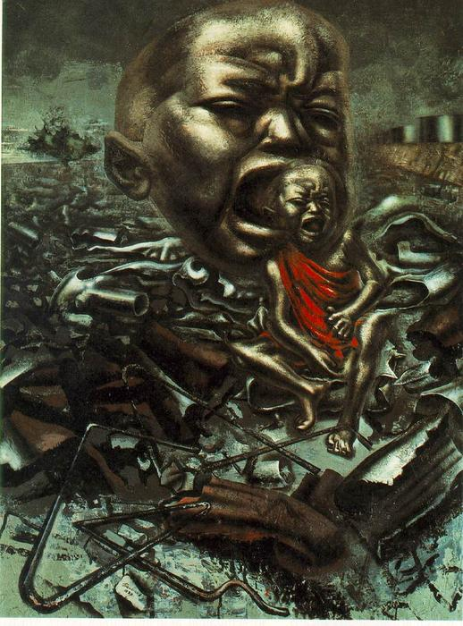 David-Alfaro-Siqueiros-Echo-Of-A-Scream