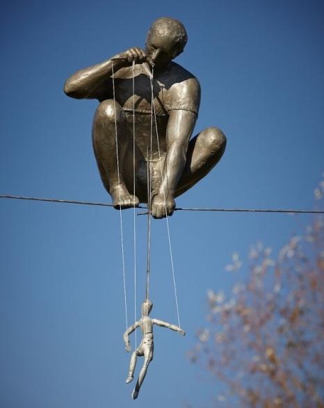 titere escultura