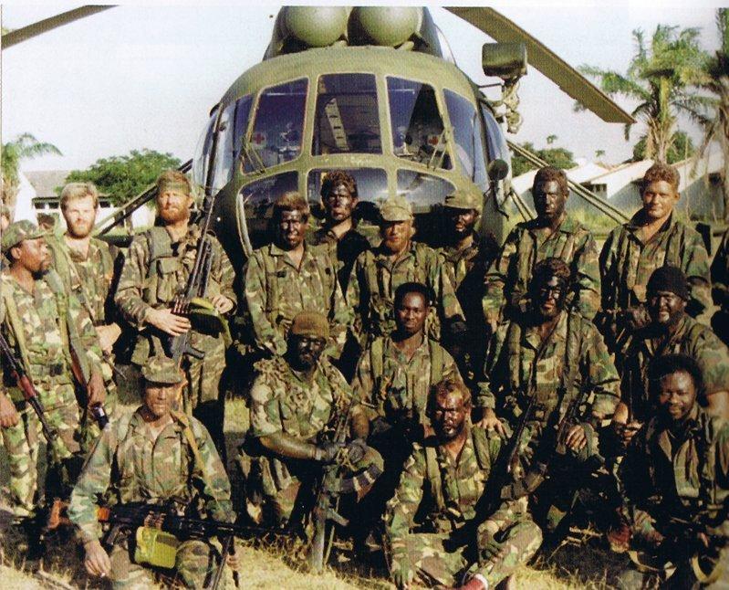 Mercenarios de Sandline International