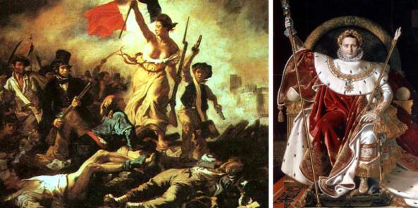 15 años después del inicio de la Revolución Francesa, Napoleón se proclamaba emperador