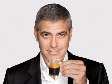 george clooney nespresso - UN MUNDO DEMENCIAL