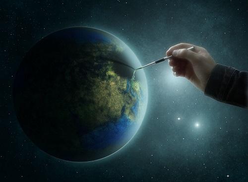 planet-earth brush