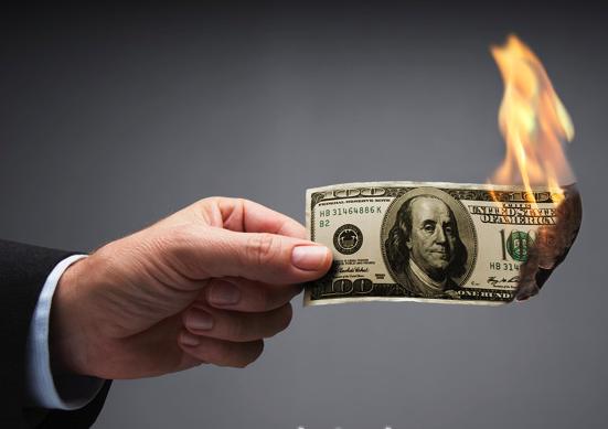 burning100bill