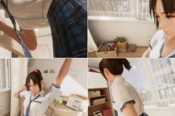 Sony's-new-game-takes-user-into-Japanese-schoolgirls-bedroom