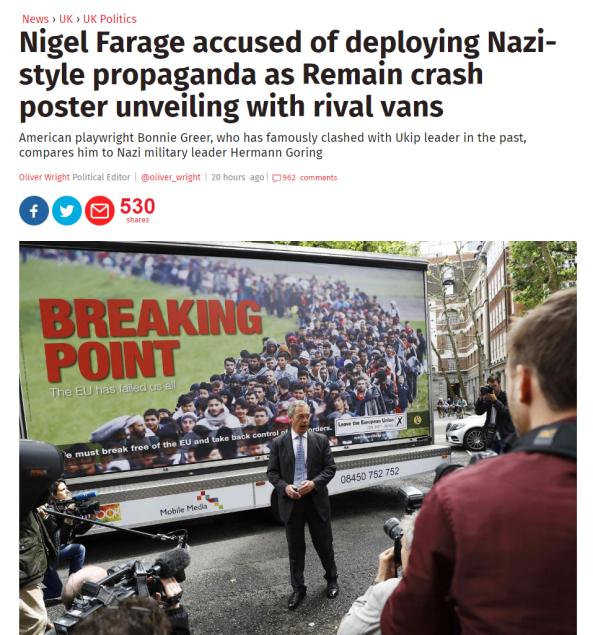 farage nazi